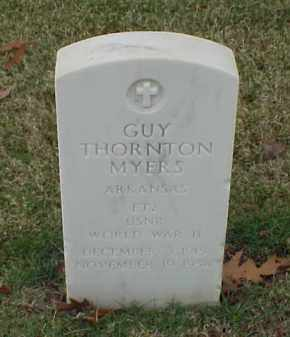 MYERS (VETERAN WWII), GUY THORNTON - Pulaski County, Arkansas | GUY THORNTON MYERS (VETERAN WWII) - Arkansas Gravestone Photos