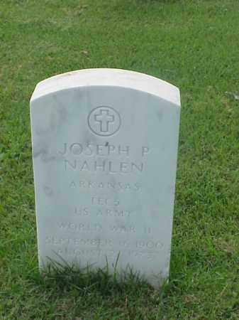 NAHLEN (VETERAN WWII), JOSEPH P - Pulaski County, Arkansas | JOSEPH P NAHLEN (VETERAN WWII) - Arkansas Gravestone Photos