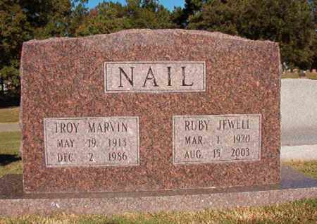PATTERSON NAIL, RUBY JEWELL - Pulaski County, Arkansas | RUBY JEWELL PATTERSON NAIL - Arkansas Gravestone Photos