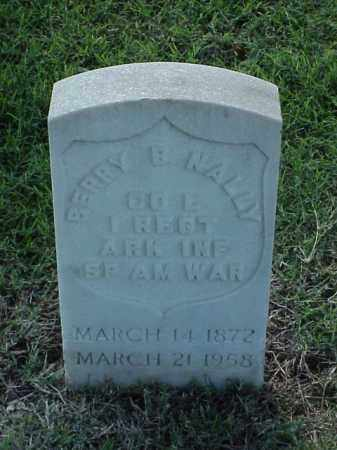 NALLY (VETERAN SAW), BERRY B - Pulaski County, Arkansas | BERRY B NALLY (VETERAN SAW) - Arkansas Gravestone Photos