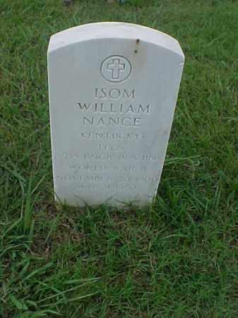 NANCE (VETERAN WWII), ISOM WILLIAM - Pulaski County, Arkansas | ISOM WILLIAM NANCE (VETERAN WWII) - Arkansas Gravestone Photos