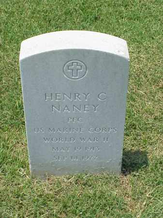 NANEY (VETERAN WWII), HENRY C - Pulaski County, Arkansas | HENRY C NANEY (VETERAN WWII) - Arkansas Gravestone Photos