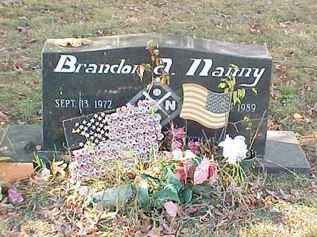 NANNY, BRANDON - Pulaski County, Arkansas | BRANDON NANNY - Arkansas Gravestone Photos