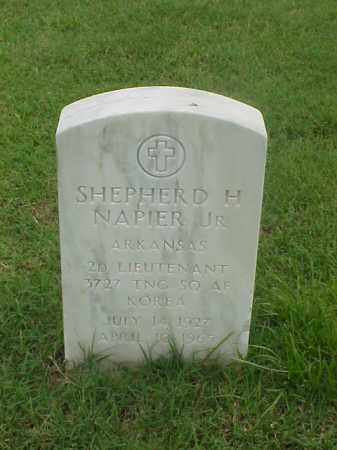 NAPIER, JR (VETERAN KOR), SHEPHERD H - Pulaski County, Arkansas | SHEPHERD H NAPIER, JR (VETERAN KOR) - Arkansas Gravestone Photos