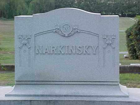 NARKINSKY FAMILY STONE,  - Pulaski County, Arkansas |  NARKINSKY FAMILY STONE - Arkansas Gravestone Photos