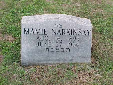 NARKINSKY, MAMIE - Pulaski County, Arkansas | MAMIE NARKINSKY - Arkansas Gravestone Photos