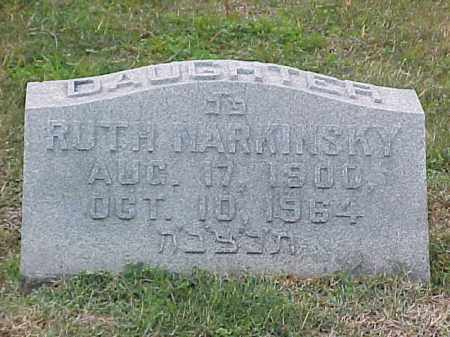 NARKINSKY, RUTH - Pulaski County, Arkansas | RUTH NARKINSKY - Arkansas Gravestone Photos