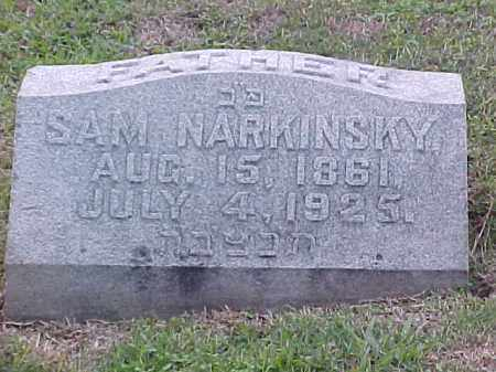 NARKINSKY, SAM - Pulaski County, Arkansas | SAM NARKINSKY - Arkansas Gravestone Photos