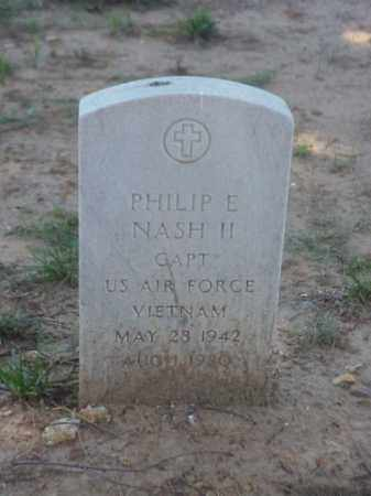 NASH, II (VETERAN VIET), PHILIP E - Pulaski County, Arkansas | PHILIP E NASH, II (VETERAN VIET) - Arkansas Gravestone Photos
