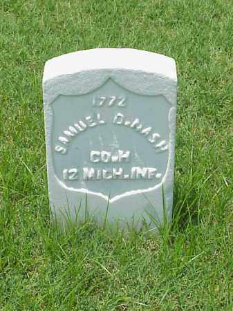 NASH (VETERAN UNION), SAMUEL D - Pulaski County, Arkansas | SAMUEL D NASH (VETERAN UNION) - Arkansas Gravestone Photos