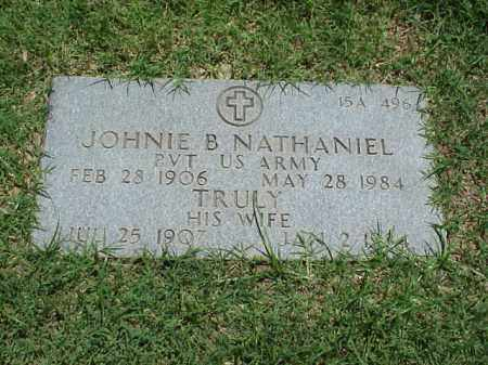 NATHANIEL (VETERAN WWII), JOHNIE B - Pulaski County, Arkansas | JOHNIE B NATHANIEL (VETERAN WWII) - Arkansas Gravestone Photos