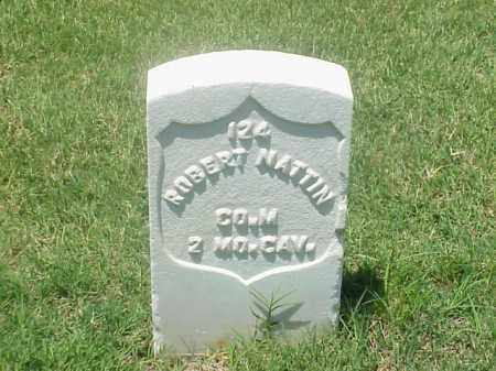 NATTIN (VETERAN UNION), ROBERT - Pulaski County, Arkansas | ROBERT NATTIN (VETERAN UNION) - Arkansas Gravestone Photos