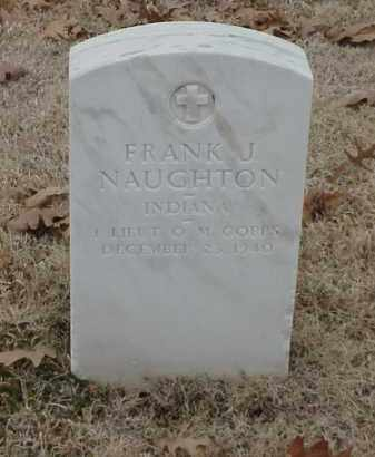NAUGHTON  (VETERAN WWI), FRANK J - Pulaski County, Arkansas | FRANK J NAUGHTON  (VETERAN WWI) - Arkansas Gravestone Photos