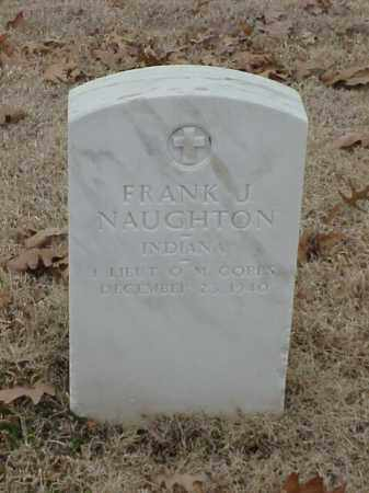 NAUGHTON (VETERAN), FRANK J - Pulaski County, Arkansas | FRANK J NAUGHTON (VETERAN) - Arkansas Gravestone Photos