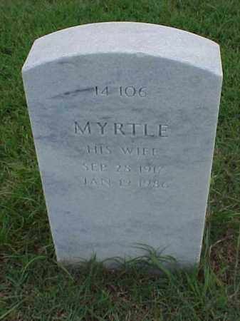 NEAL, MYRTLE - Pulaski County, Arkansas | MYRTLE NEAL - Arkansas Gravestone Photos