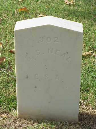 NEAL (VETERAN CSA), S S - Pulaski County, Arkansas | S S NEAL (VETERAN CSA) - Arkansas Gravestone Photos