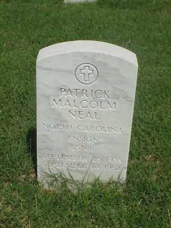NEAL (VETERAN), PATRICK MALCOLM - Pulaski County, Arkansas | PATRICK MALCOLM NEAL (VETERAN) - Arkansas Gravestone Photos