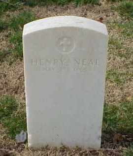 NEAL (VETERAN UNION), HENRY - Pulaski County, Arkansas | HENRY NEAL (VETERAN UNION) - Arkansas Gravestone Photos