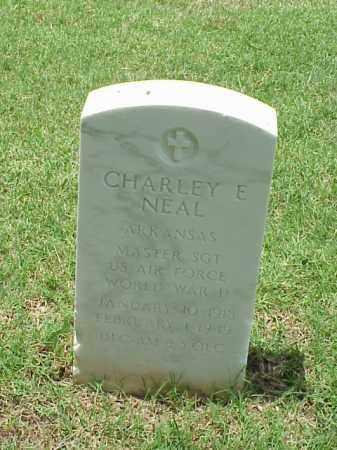 NEAL (VETERAN WWII), CHARLEY E - Pulaski County, Arkansas | CHARLEY E NEAL (VETERAN WWII) - Arkansas Gravestone Photos