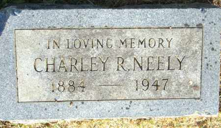 NEELEY, CHARLES R. - Pulaski County, Arkansas | CHARLES R. NEELEY - Arkansas Gravestone Photos
