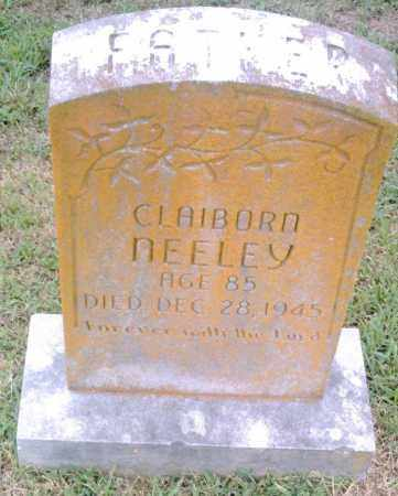 NEELEY, CLAIBORN - Pulaski County, Arkansas | CLAIBORN NEELEY - Arkansas Gravestone Photos