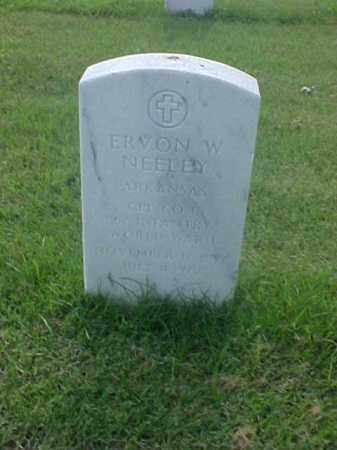 NEELEY (VETERAN WWI), EVRON W - Pulaski County, Arkansas | EVRON W NEELEY (VETERAN WWI) - Arkansas Gravestone Photos