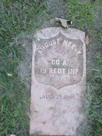 NEELY (VETERAN UNION), AUGUST - Pulaski County, Arkansas | AUGUST NEELY (VETERAN UNION) - Arkansas Gravestone Photos