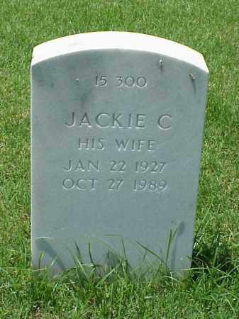 NEIL, JACKIE C - Pulaski County, Arkansas | JACKIE C NEIL - Arkansas Gravestone Photos