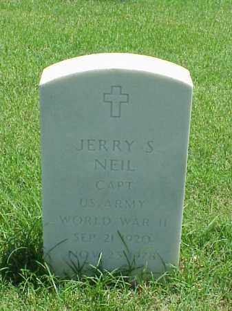 NEIL (VETERAN WWII), JERRY S - Pulaski County, Arkansas | JERRY S NEIL (VETERAN WWII) - Arkansas Gravestone Photos