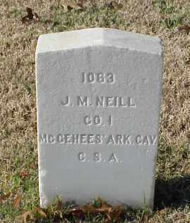 NEILL (VETERAN CSA), J M - Pulaski County, Arkansas | J M NEILL (VETERAN CSA) - Arkansas Gravestone Photos