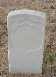 NEILL (VETERAN UNION), STEPHEN - Pulaski County, Arkansas | STEPHEN NEILL (VETERAN UNION) - Arkansas Gravestone Photos