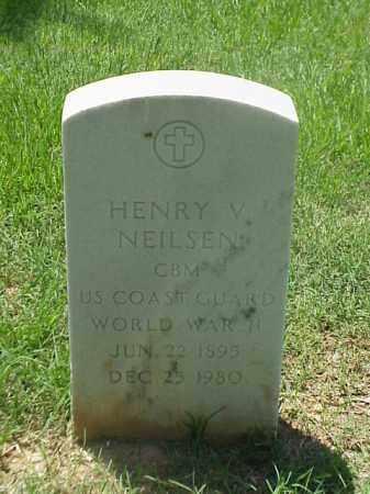 NEILSEN (VETERAN WWII), HENRY V - Pulaski County, Arkansas | HENRY V NEILSEN (VETERAN WWII) - Arkansas Gravestone Photos