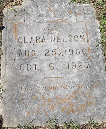 NELSON, CLARA - Pulaski County, Arkansas | CLARA NELSON - Arkansas Gravestone Photos