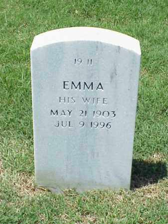 NELSON, EMMA - Pulaski County, Arkansas | EMMA NELSON - Arkansas Gravestone Photos