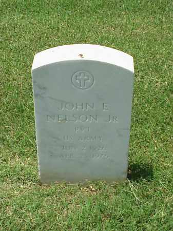 NELSON, JR (VETERAN WWII), JOHN E - Pulaski County, Arkansas   JOHN E NELSON, JR (VETERAN WWII) - Arkansas Gravestone Photos
