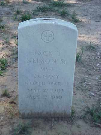 NELSON, SR (VETERAN WWII), JACK T - Pulaski County, Arkansas | JACK T NELSON, SR (VETERAN WWII) - Arkansas Gravestone Photos