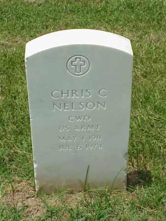 NELSON (VETERAN 2 WARS), CHRIS C - Pulaski County, Arkansas | CHRIS C NELSON (VETERAN 2 WARS) - Arkansas Gravestone Photos