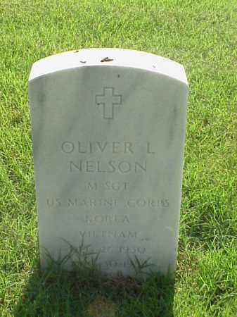 NELSON (VETERAN 2 WARS), OLIVER L - Pulaski County, Arkansas | OLIVER L NELSON (VETERAN 2 WARS) - Arkansas Gravestone Photos