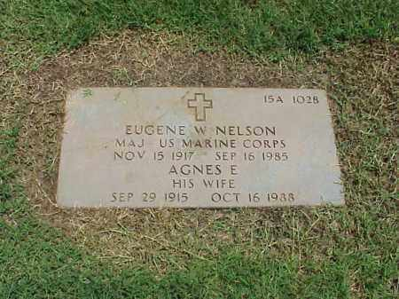 NELSON (VETERAN 2 WARS), EUGENE W - Pulaski County, Arkansas | EUGENE W NELSON (VETERAN 2 WARS) - Arkansas Gravestone Photos