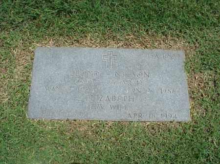 NELSON (VETERAN WWII), LLOYD L - Pulaski County, Arkansas | LLOYD L NELSON (VETERAN WWII) - Arkansas Gravestone Photos