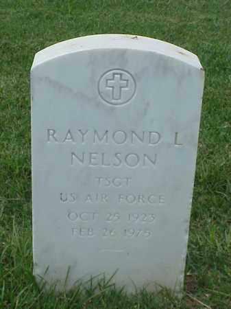 NELSON (VETERAN), RAYMOND L - Pulaski County, Arkansas | RAYMOND L NELSON (VETERAN) - Arkansas Gravestone Photos