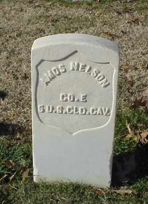 NELSON (VETERAN UNION), AMOS - Pulaski County, Arkansas | AMOS NELSON (VETERAN UNION) - Arkansas Gravestone Photos