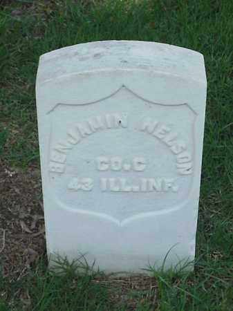 NELSON (VETERAN UNION), BENJAMIN - Pulaski County, Arkansas | BENJAMIN NELSON (VETERAN UNION) - Arkansas Gravestone Photos