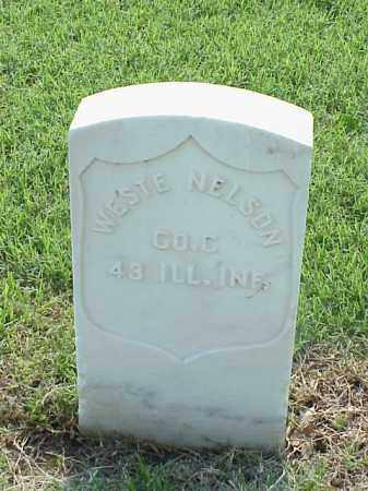 NELSON (VETERAN UNION), WESTE - Pulaski County, Arkansas | WESTE NELSON (VETERAN UNION) - Arkansas Gravestone Photos