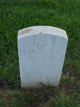 NELSON (VETERAN WWI), CHARLES H - Pulaski County, Arkansas | CHARLES H NELSON (VETERAN WWI) - Arkansas Gravestone Photos