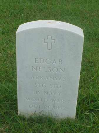NELSON (VETERAN WWI), EDGAR - Pulaski County, Arkansas | EDGAR NELSON (VETERAN WWI) - Arkansas Gravestone Photos