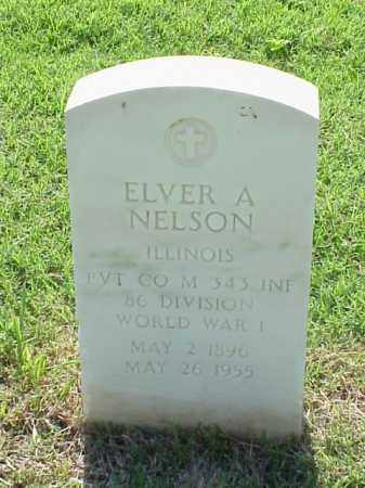 NELSON (VETERAN WWI), ELVER A - Pulaski County, Arkansas | ELVER A NELSON (VETERAN WWI) - Arkansas Gravestone Photos
