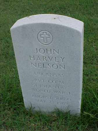 NELSON (VETERAN WWI), JOHN HARVEY - Pulaski County, Arkansas | JOHN HARVEY NELSON (VETERAN WWI) - Arkansas Gravestone Photos