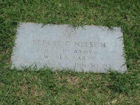 NELSON (VETERAN WWII), ALBERT C - Pulaski County, Arkansas | ALBERT C NELSON (VETERAN WWII) - Arkansas Gravestone Photos