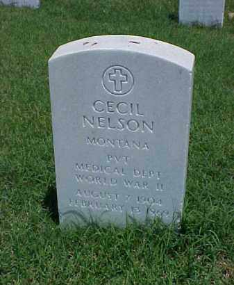 NELSON (VETERAN WWII), CECIL - Pulaski County, Arkansas | CECIL NELSON (VETERAN WWII) - Arkansas Gravestone Photos